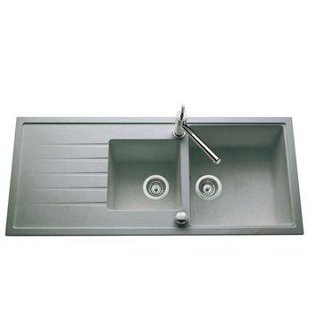 lot evier granit gris 2 bacs icauna mitigeur crbmd027 cuisissimo. Black Bedroom Furniture Sets. Home Design Ideas