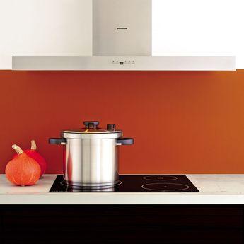 Hotte cuisine murale Silverline BOREAL inox 90 cm