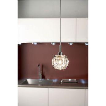 Éclairage de cuisine Suspension en verre LUPA