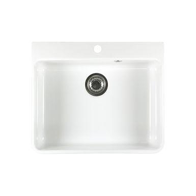vier timbre d office poser en c ramique blanc victor 1. Black Bedroom Furniture Sets. Home Design Ideas