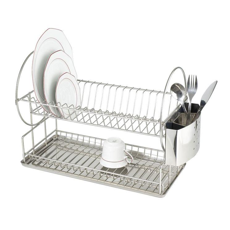Égouttoir à vaisselle WENKO EXCLUSIF DUO inox